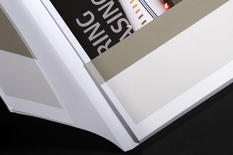 mattlaminierte Dokumentenmappe aus Karton