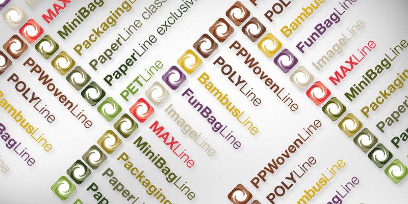 Logovielfalt an Taschen