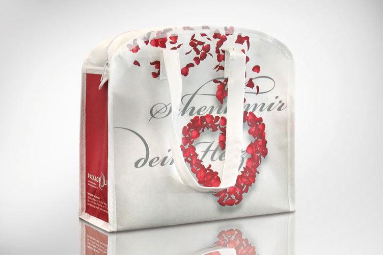 Geschenktasche mit Reissverschluss