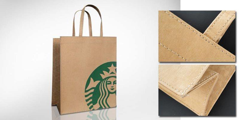 wasserfeste Kraftpapiertasche