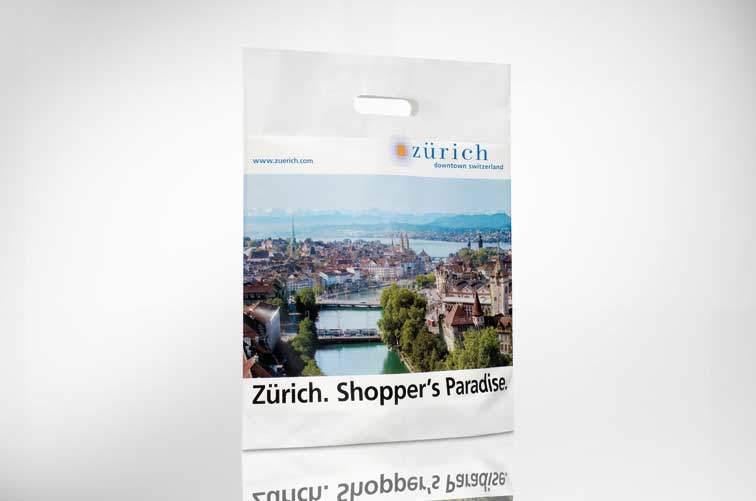 robuste Shoppingkunststofftasche