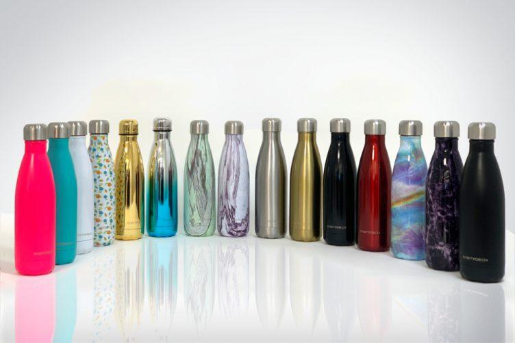 Trinkflaschen mit eigenem Brand.